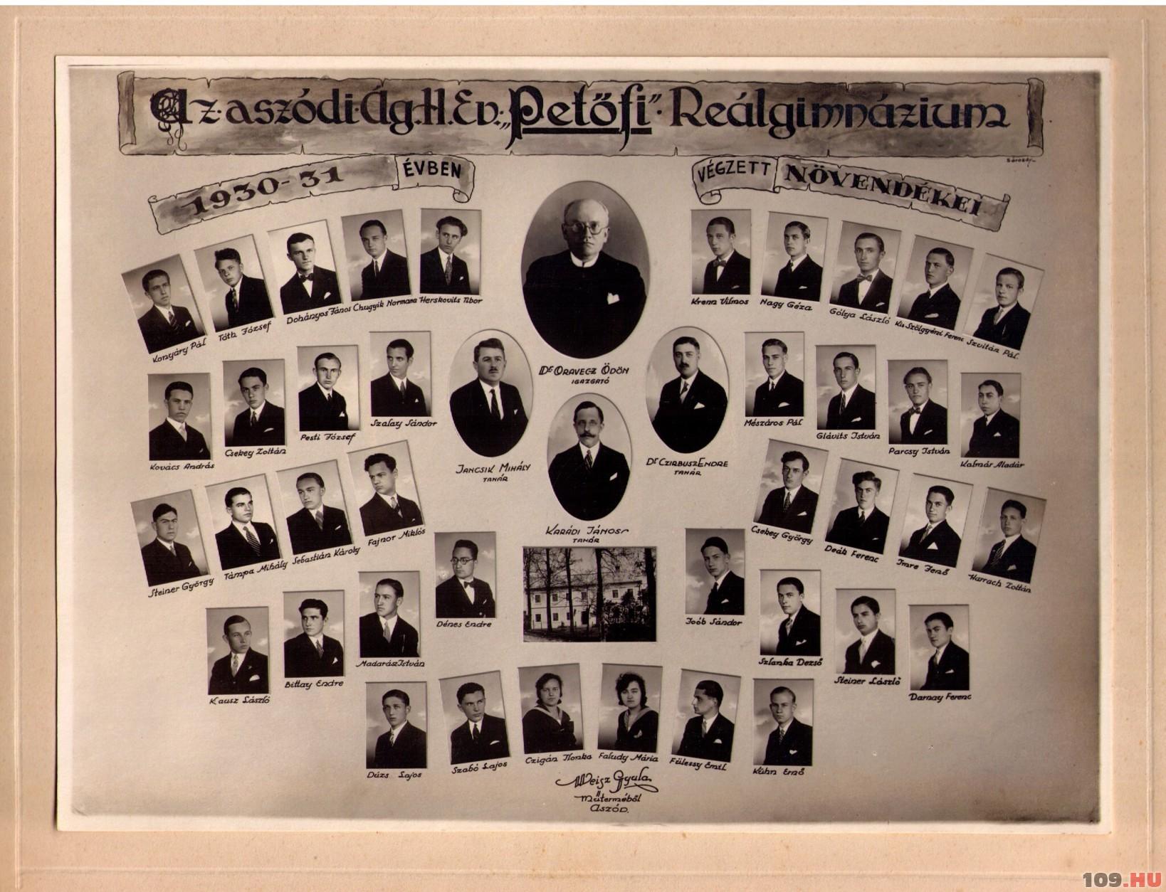 Aszod_1930_1931